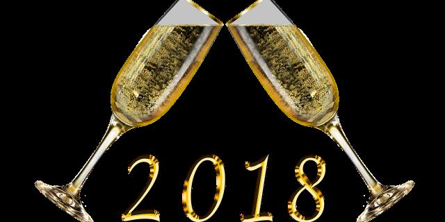 Wir wünschen Prosit Neujahr